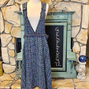 Zara Tweed Overall Dress
